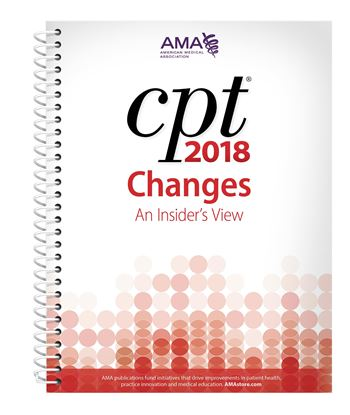 Picture of CPT Changes 2018: An Insider's  View