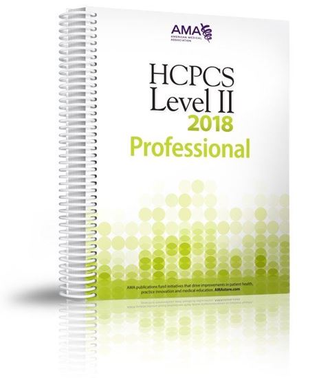 Picture of HCPCS 2018 Level II Professional Edition