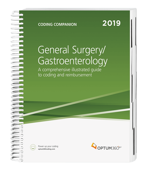 Picture of Coding Companion for General Surgery/Gastroenterology-2019