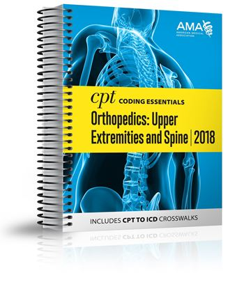 Picture of CPT Coding Essentials  for Orthopaedics Upper and Spine 2018