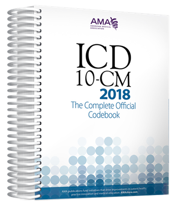 Picture of ICD-10-CM 2018 The Complete Official Codebook