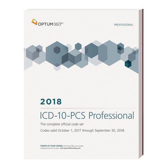 Picture of ICD-10-PCS Professional — 2018 (Softbound)