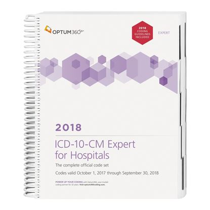 Picture of ICD-10-CM Expert for Hospitals — 2018 (Spiral)