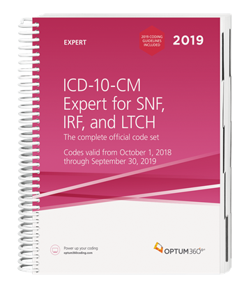 Picture of ICD-10 Expert for SNF, IRF and LTCH-2019 with guidelines