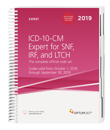 Picture of ICD-10 Expert for SNF, IRF and LTCH -eBook-2019 with guidelines