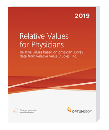 Picture of Relative Values for Physicians-2019