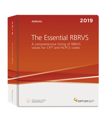 Picture of The Essential RBRVS Annual-2019