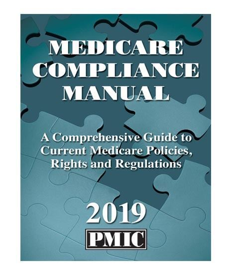 Picture of MEDICARE COMPLIANCE MANUAL 2019