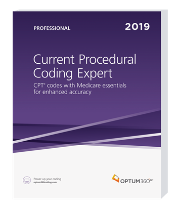 Picture of Current Procedural Coding Expert, Prof Edition — 2019 (Softbound)