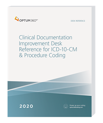 Picture of Clinical Documentation Improvement Desk Ref for ICD-10-CM & Procedure Coding