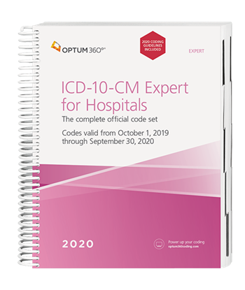 Picture of ICD-10-CM Expert for Hospitals -  (Spiral) with guidelines