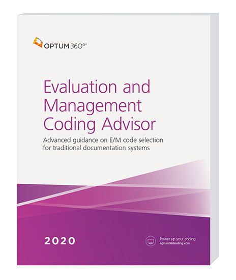 Picture of Evaluation and Management Coding Advisor