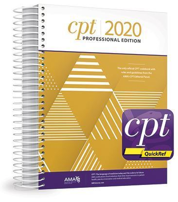 Picture of CPT Professional 2020 and CPT QuickRef APP Bundle NEW