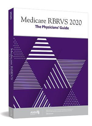 Picture of Medicare RBRVS 2020: The Physicians' Guide