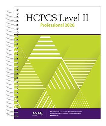 Picture of HCPCS 2020 Level II Professional Edition