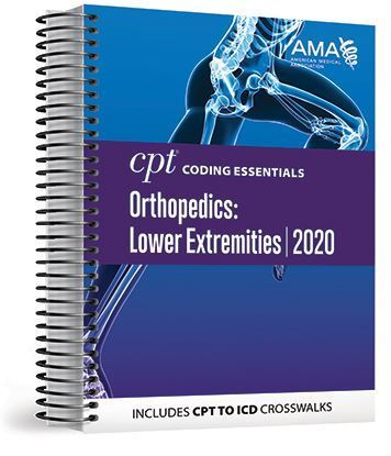 Picture of CPT Coding Essentials for Orthopaedics Lower 2020