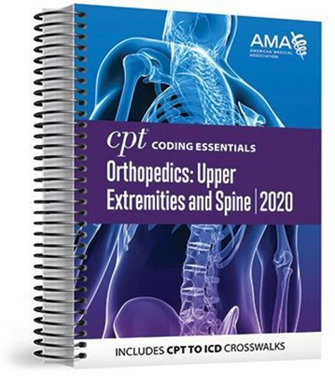 Picture of CPT Coding Essentials for Orthopaedics Upper and Spine 2020