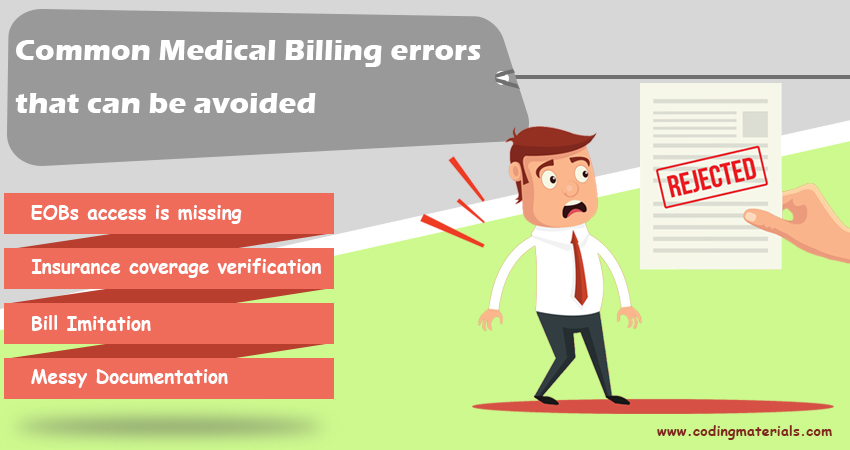 Common Medical Billing Errors That Can Be Avoided