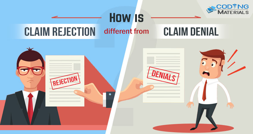 Claim Rejection Different From Claim Denial