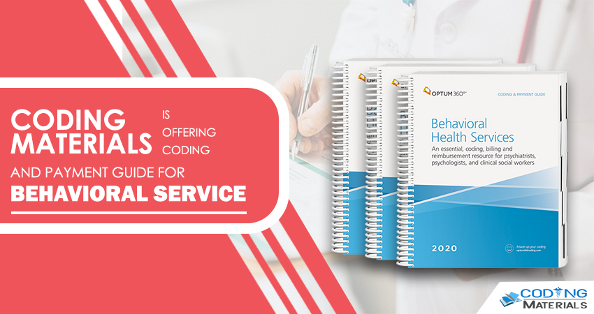 Avail Coding and Payment Guide for Behavioural Health Services From Coding Materials