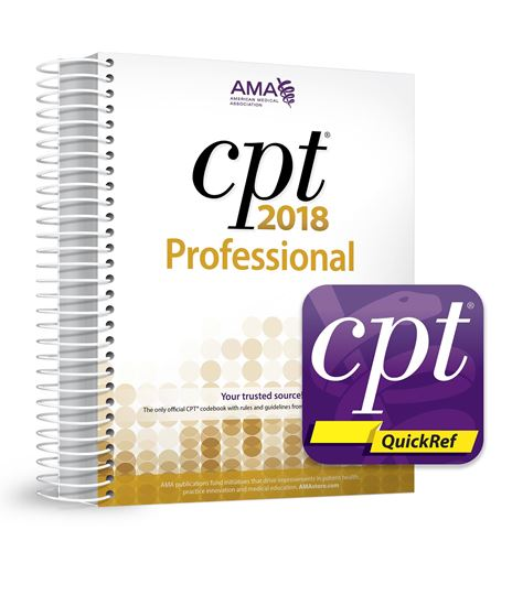 Picture of CPT Professional 2018 and CPT QuickRef  APP Bundle