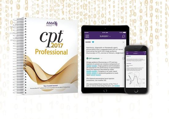Picture of CPT Professional 2017 and CPT QuickRef  APP Bundle