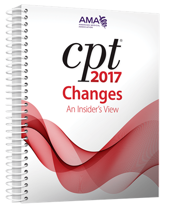 Picture of CPT Changes 2017: An Insider's  View
