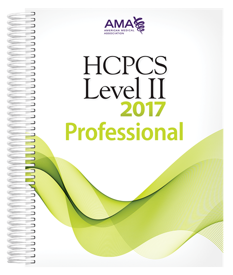 Picture of HCPCS 2017 Level II Professional Edition