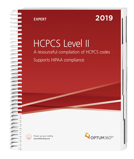 Picture of HCPCS Level II Expert-2019 (Spiral)