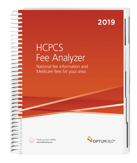 Picture of HCPCS Fee Analyzer-2019