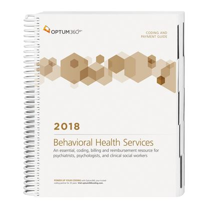 Picture of Coding and Payment Guide for Behavioral Health Services — 2018