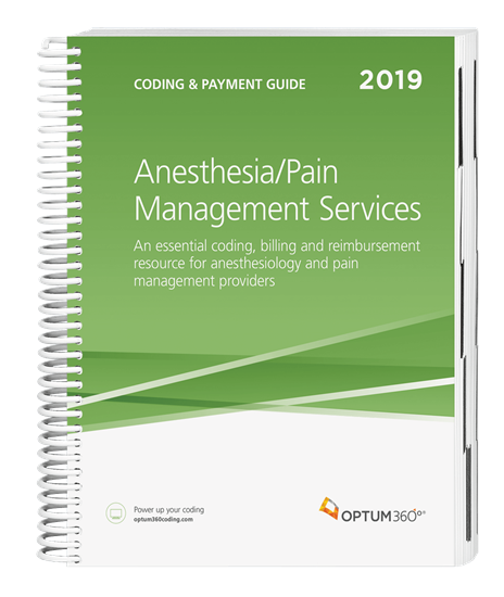 Picture of Coding and Payment Guide for Anesthesia Services-2019