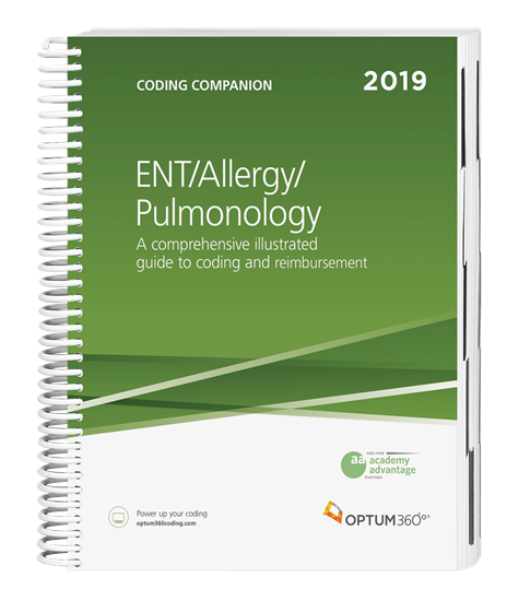 Picture of Coding Companion for ENT/Allergy/Pulmonology-2019