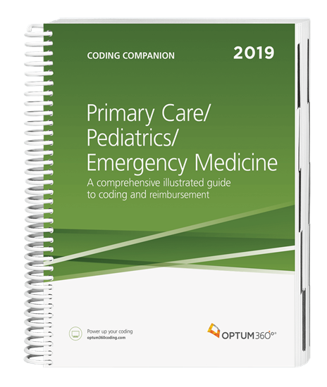 Picture of Coding Companion for Primary Care/Pediatrics/Emergency Medicine-2019