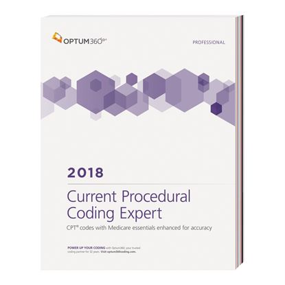 Picture of Current Procedural Coding Expert, Prof Edition — 2018 (Softbound)
