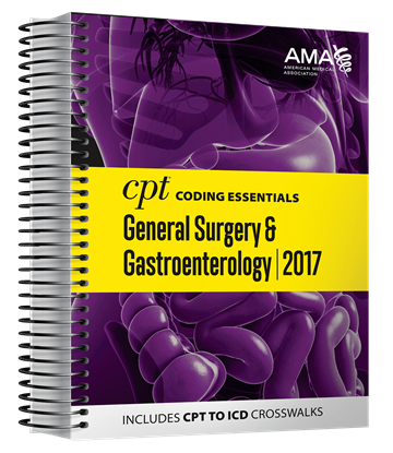 Picture of CPT Coding Essentials  for General Surgery and Gastroenterology 2017