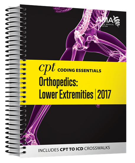 Picture of CPT Coding Essentials  for Orthopaedics Lower 2017