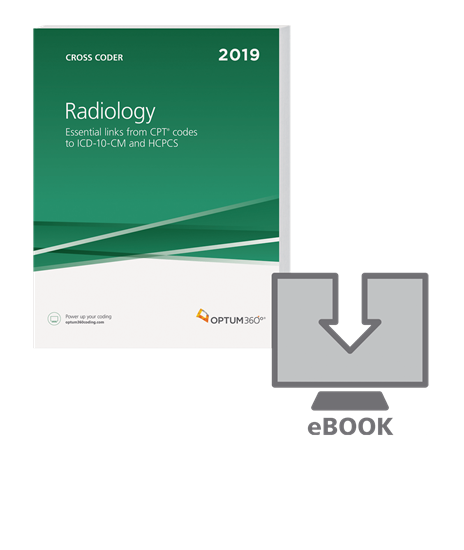Picture of Radiology Cross Coder-eBook-2019