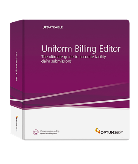 Picture of Uniform Billing Editor (Binder)