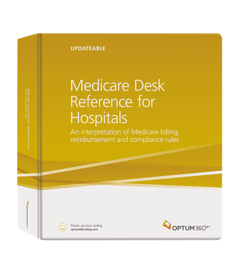 Picture of Medicare Desk Reference for Hospitals - eBook-2019