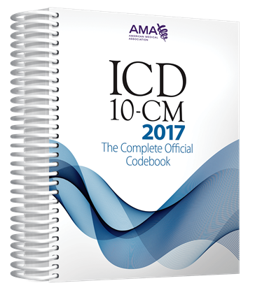 Picture of ICD-10-CM 2017 The Complete  Official Codebook