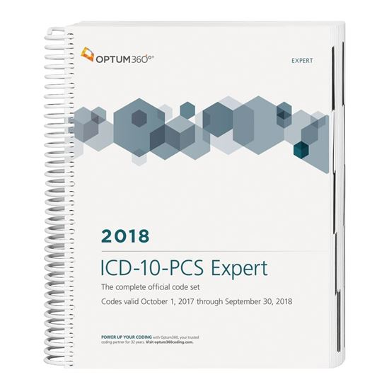 Picture of ICD-10-PCS Expert — 2018 (Spiral)