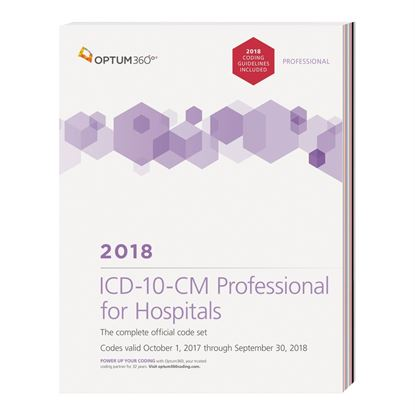 Picture of ICD-10-CM Professional for Hospitals — 2018 (Softbound)