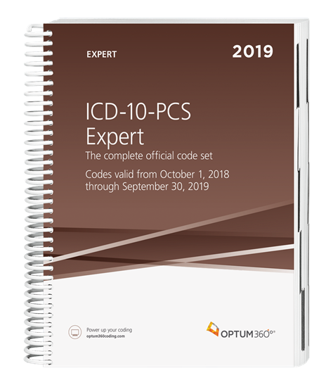 Picture of ICD-10-PCS Expert — 2019 (Spiral)