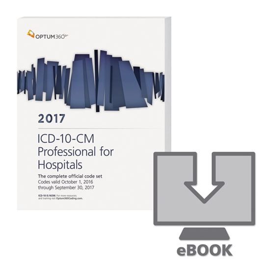 Picture of ICD-10-CM Professional for Hospitals - eBook — 2017