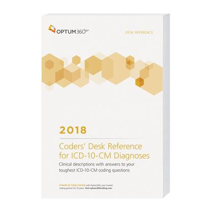 Picture of Coders' Desk Reference for Diagnoses (ICD-10-CM) - eBook — 2018