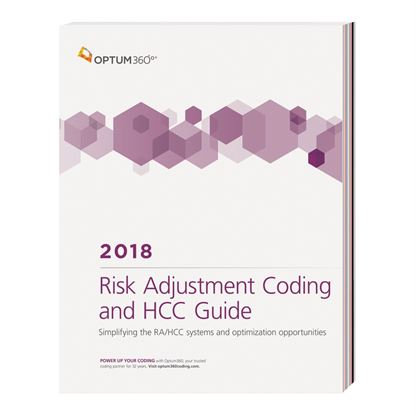 Picture of Risk Adjustment Coding and HCC Guide - eBook — 2018