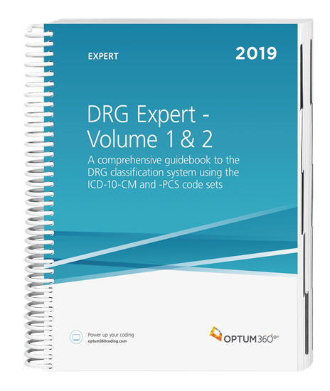 Picture of DRG Expert-2019 (2 Volume set, shrink wrapped)