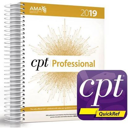 Picture of CPT Professional 2019 and CPT QuickRef APP Bundle  NEW