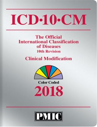 Picture of ICD-10-CM 2018 BOOK